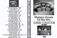 What's My Line Mystery Guest DVD Collection 50's