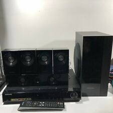 SAMSUNG HT-Z310T Home Theater 5.1 Channel DVD Player w Speakers Complete TESTED