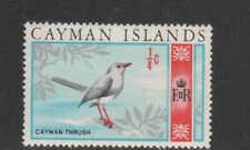 CAYMAN ISLANDS #210  1969  1/4p GRAN CAYMAN THRUSH     MINT VF LH  O.G