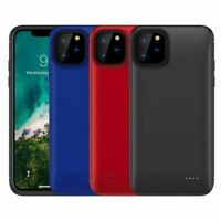 For iPhone 11 Pro Max Extended Battery Charger Case Power Bank Charging A3