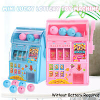 Mini Lucky Slot Machines  Toy Game Handheld Lottery Machine Kids Play Toys !