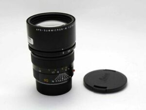 Leica APO-Summicron-M 90mm f/2 F/2.0 ASPH. Excellent From Japan Tested