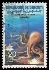 "DJIBOUTI 783 - Marine Life ""Octopus"" (pf37434) $135 ++"