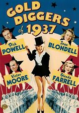 Gold Diggers of 1937 (DVD) Dick Powell, Joan Blondell NEW