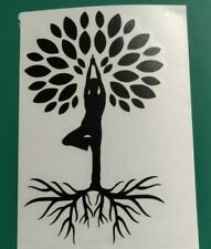 Yoga Tree logo - Car/Van/Camper/Bike Decal Sticker Vinyl Graphic