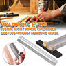 High-Precision Scale Ruler Marking Rule T-Type Hole Stainless Woodworking Tool