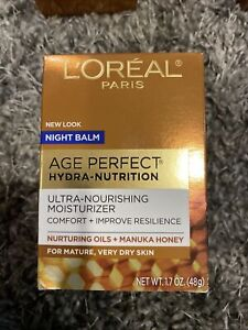 L'oreal Skincare Age Perfect Hydra Nutrition Ultra Nourishing Honey Night Balm