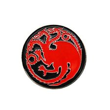 Game of Thrones House Targaryen Dragon Emblem Fantasy Khaleesi Brooch Pin