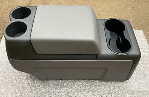 2004-2008 FORD F150 COLUMN SHIFT FLOOR CENTER CONSOLE GRAY/GREY