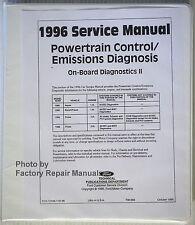 1996 Aspire, Probe 2.5L, Escort / Tracer 1.8L Powertrain Control Service Manual