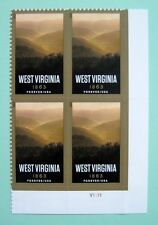 Sc # 4790 ~ Plate # Block ~ Forever Stamp, West Virginia Statehood Issue (cg20)