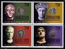 Albania stamps 2003. Roman emperors from Illyria. Set MNH