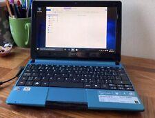 Acer Aspire One D257 Netbook PC Windows 7 Starter 10 inch Blue