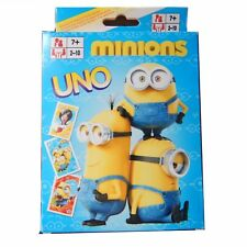 Minions UNO Card Game Travel Kids Christmas Toy Gift Stocking Filler Pressie