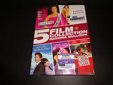 SANDRA BULLOCK 5 FILM COLLECTION w/dig code to 9-30-17--Miss Congeniality & more