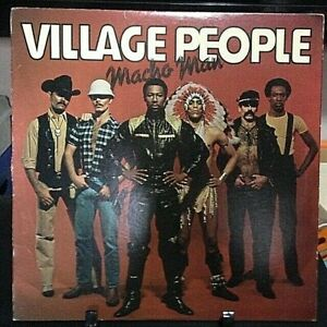 VILLAGE PEOPLE Macho Man Album Released 1978 Record/Vinyl Collection USA