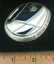 Cadillac Heritage of Ownership Medallion Grille Emblem With Box