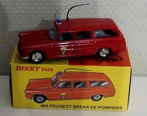Peugeot 404 Break Pompiers Dinky Toys Atlas REF 525 P