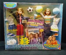 Rare Mary-Kate and Ashley School Style Gift set with 2 Dolls (NRFB)