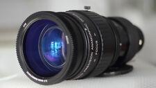 Anamorphic lens Runco1.33x 46-85mm F2.8 zoom modtoSingle Focus 0.92m Iscorama 54