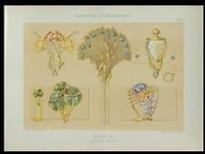 EMILE SEGUY, BIJOUX -1898- LITHOGRAPHIE, ART NOUVEAU