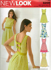 From UK Sewing Pattern Dress 8-18 #6208