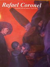 RAFAEL CORONEL. 50 YEAR TRIBUTE. MEXICAN ART BOOK