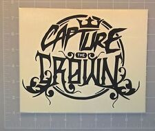 Capture The Crown Logo Vinyl Sticker Decal metal bumper music car window laptop