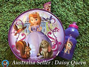 ZAK Disney Princess Sofia The First Lunch Bag Cooler Drink Bottle Preschool