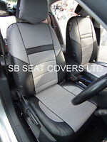 FIAT GRANDE PUNTO CAR SEAT COVERS ROSSINI ROS 0210 GREY LEATHERETTE