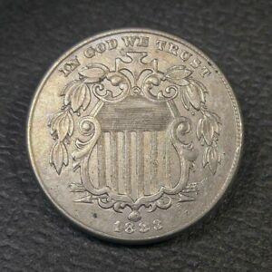 1883 Shield Nickel XF/AU