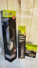 Charbroil Grill Parts Replacement Kit:Tube Burner-Heat Tent Shield-Electrode