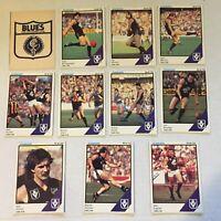 1984 CARLTON VFL / AFL Scanlens Cards...Full Team Set w/ UNMARKED CHECK LIST!