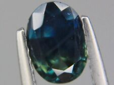 Australian Blue and Yellow Sapphire VS 1.03ct Oval 7x5mm Loose Natural Gemstone