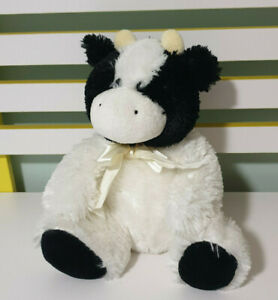 ANOTHER KORIMCO FRIEND COW STUFFED ANIMAL 26CM! BEANS IN HANDS AND FEET FARM