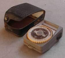 Soviet USSR Vintage Selenium Exposure Light Meter Leningrad-4 - EXC. s/n 461830