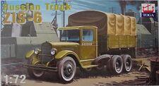 ZIS-6 Sowjet Truck, 1/72, Toga, Plastic, New