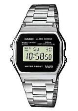 Digitale rechteckige Armbanduhren mit 12-Stunden-Zifferblatt und Glanz
