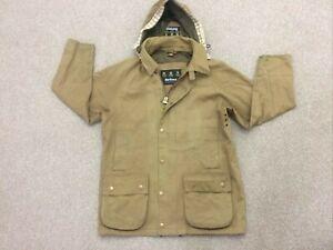 Men's Barbour Beaufort Mac t288 Jacket Size Large Brown