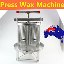 Manual Household Bee Honey Press Presser Wax Machine Beekeeping Agriculture AU