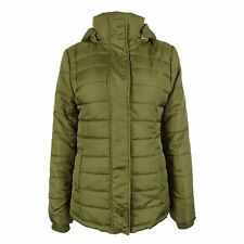 Rampage Women's Quilted Puffer Coat Without Hood NWOT (Green, Medium)