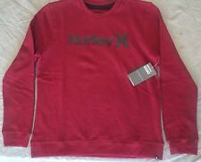 NEW WITH TAG HURLEY OAO Nubby Crew Neck Sweatshirt size X Large