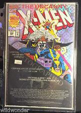 X-Men 300 S&N (#1721) Signed By John Romita Jr. Limited Treasures Edition 1993