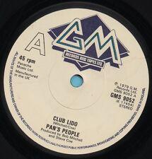 PAN'S PEOPLE club lido*club lido (instrumental) 1979 UK GM 45