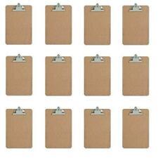 Mini Clipboard Hardboard 6 X 9 12 Pack