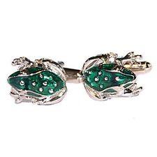 Green Frog Cufflinks (X2N192)