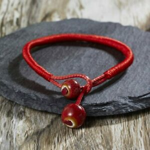 2021 Handmade Red Rope Lucky Beads Bracelet Bangle Charm Women Jewelry Gift Hot