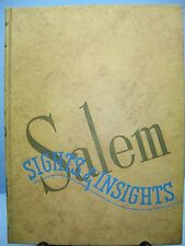 1943 Sights & Insights, Salem College, Winston-Salem, North Carolina Yearbook