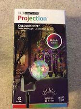 NEW NIB!! Christmas Multi Color Kaleidoscope LED Lightshow Projection Yard Decor