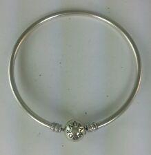 Pandora Sterling Silver Bangle Charm Bracelet